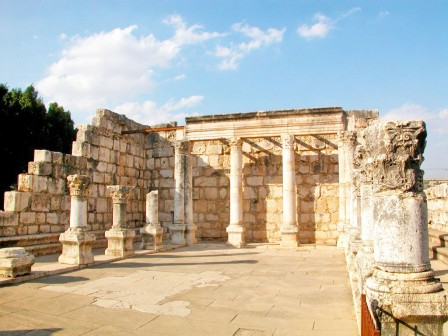 The Capernaum Synagogue