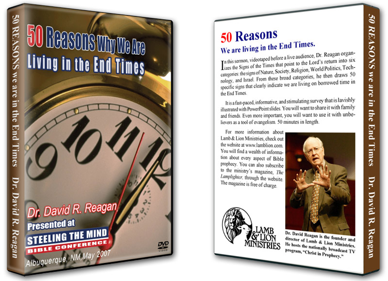 50 Reasons Why We Are Living in the End Times DVD Both