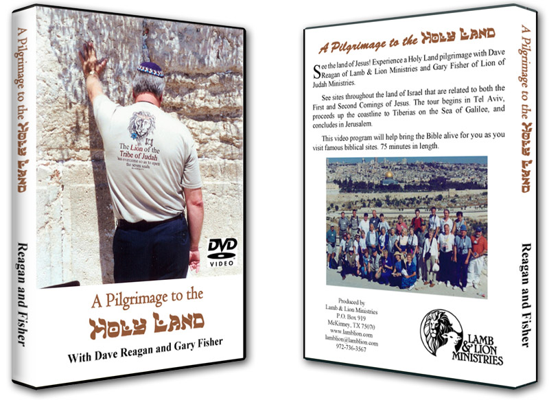 A Pilgrimage to the Holy Land DVD Both