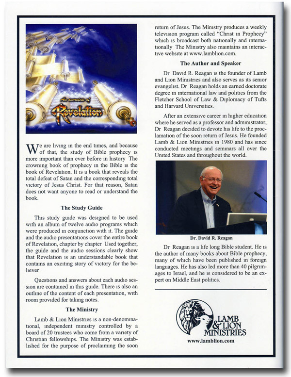 An Overview of Revelation Study Guide Back