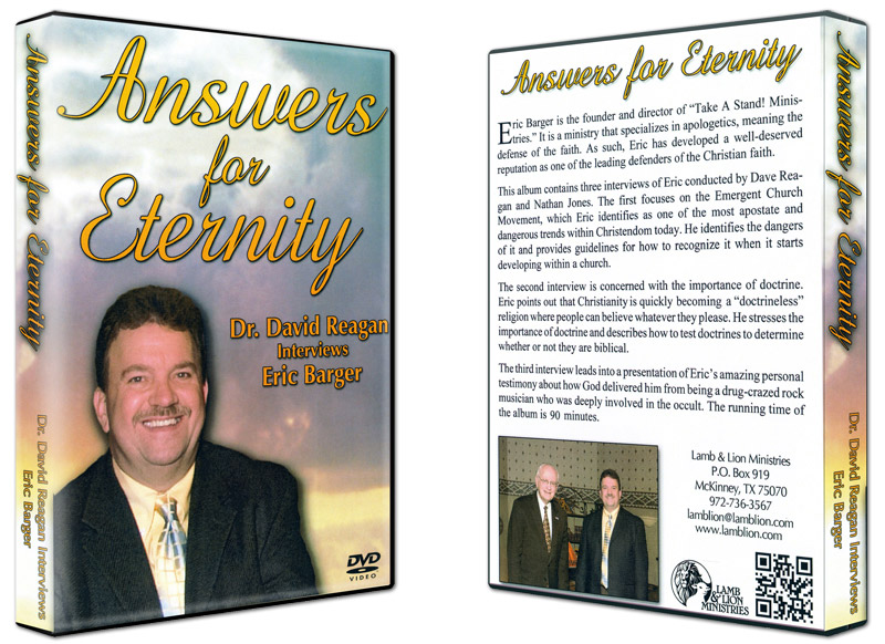 Answers For Eternity DVD Both