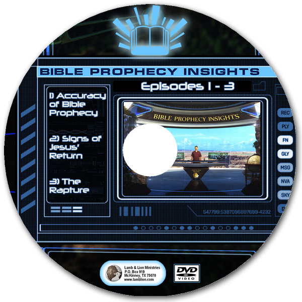 Bible Prophecy Insights Episodes 1-3 DVD Disc