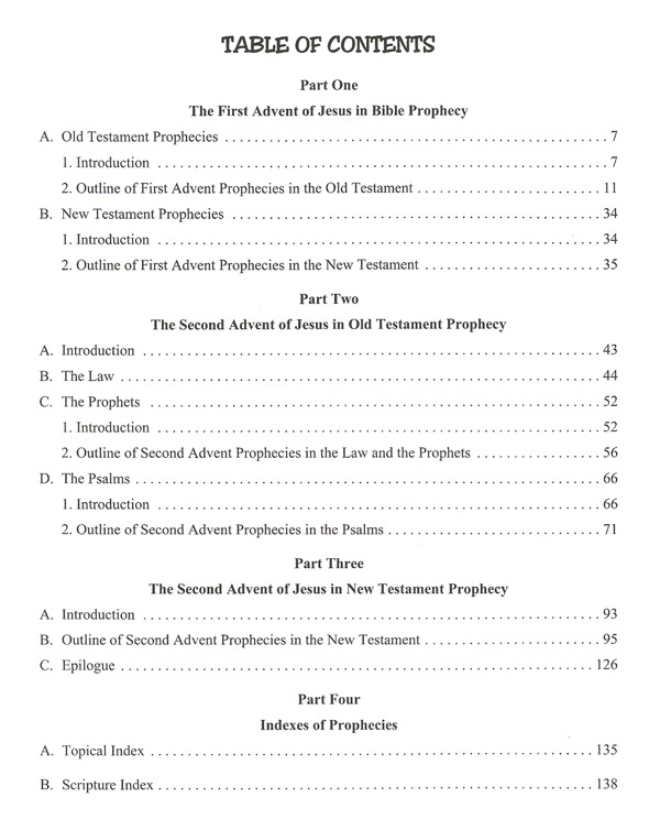 The Christ in Prophecy Study Guide Book Table