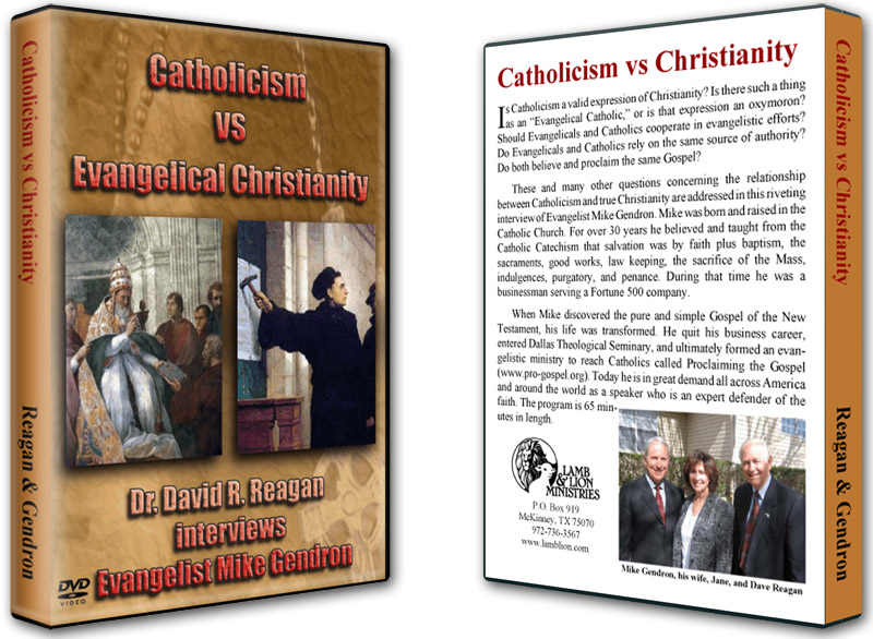 Catholicism vs Evangelical Christianity DVD Both