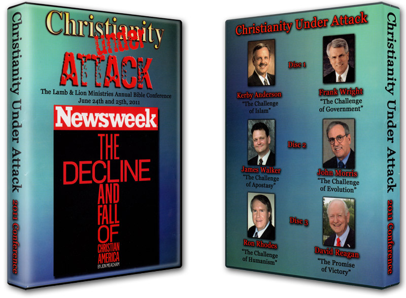 Christianity Under Attack DVD Both