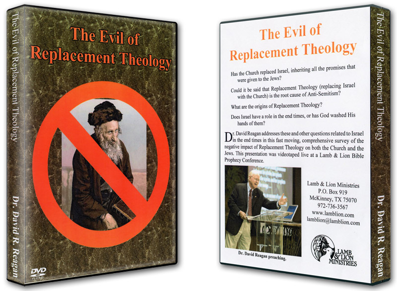 The Evil of Replacement Theology DVD Both
