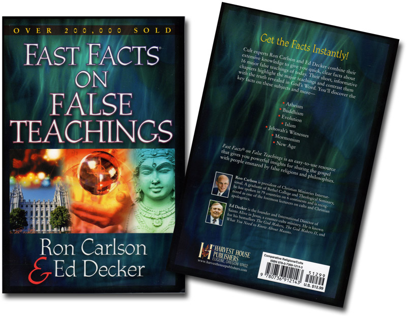 Fast Facts on False Teachings Book Both