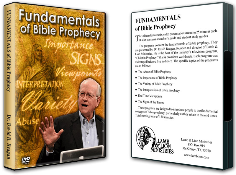 Fundamentals of Bible Prophecy DVD Both