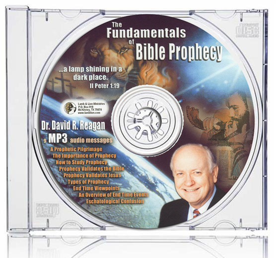 The Fundamentals of Bible Prophecy MP3 Collection Case