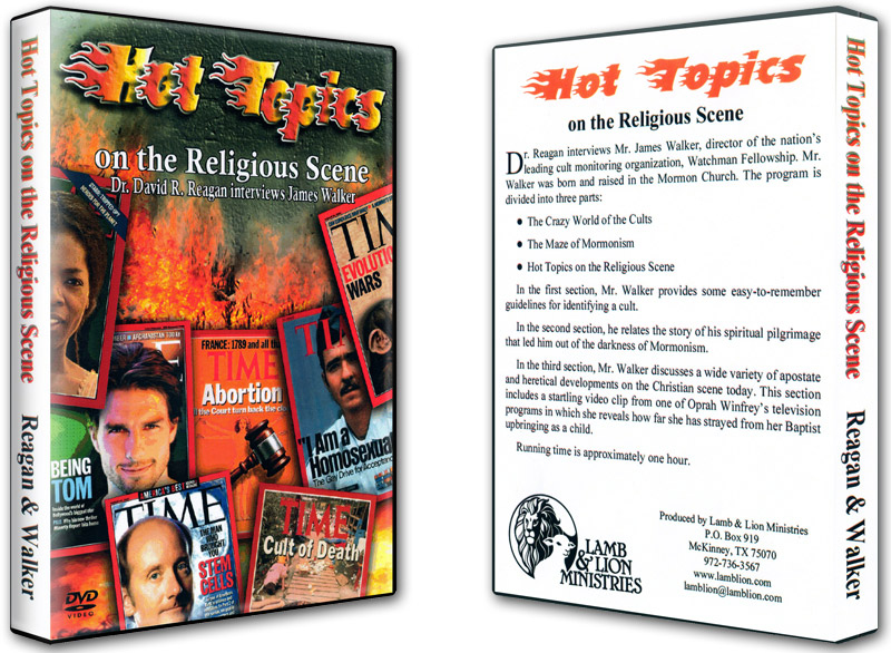 Hot Topics on the Religious Scene DVD Both
