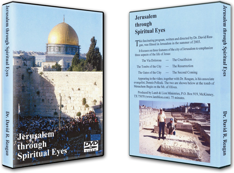 Jerusalem Through Spiritual Eyes DVD Both