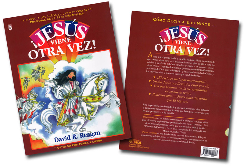 Jesus is Coming Again! (Spanish) Book Both