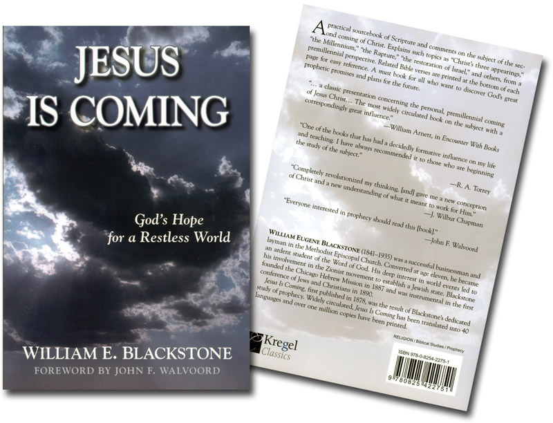 Jesus is Coming Book Both