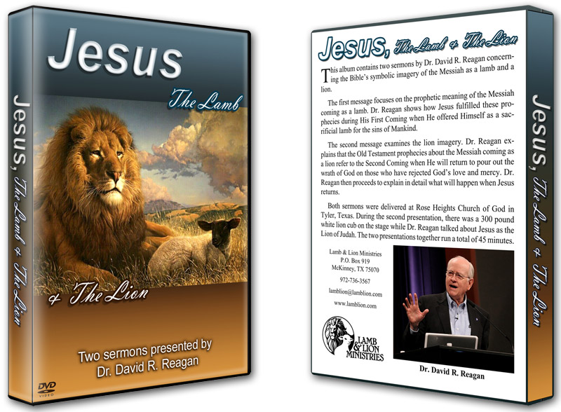 Jesus, the Lamb and the Lion DVD Both