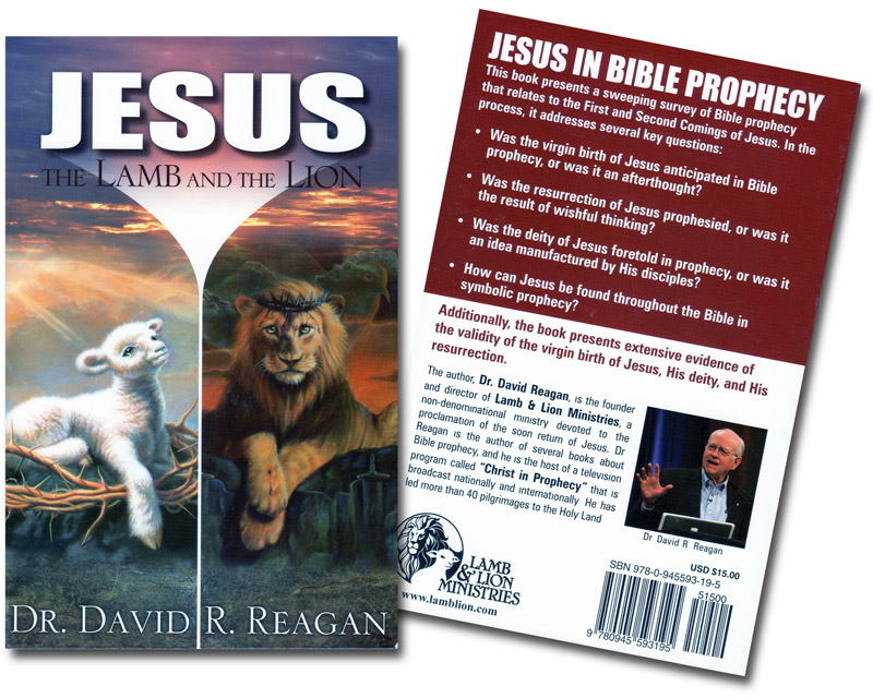 Jesus the Lamb and the Lion Book Both