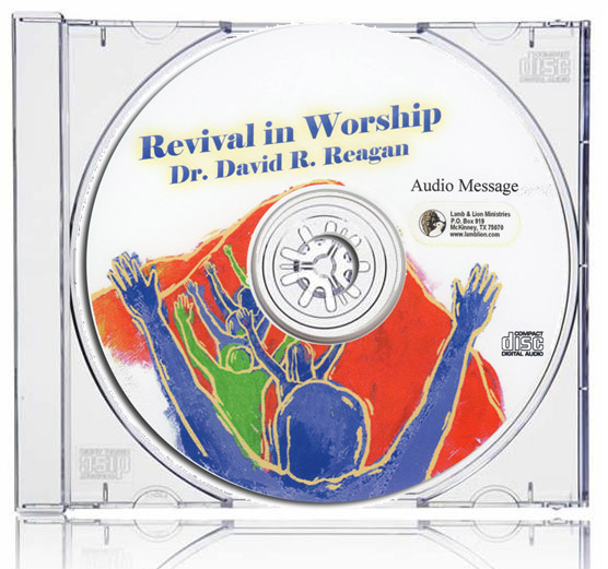 Revival in Worship CD Case