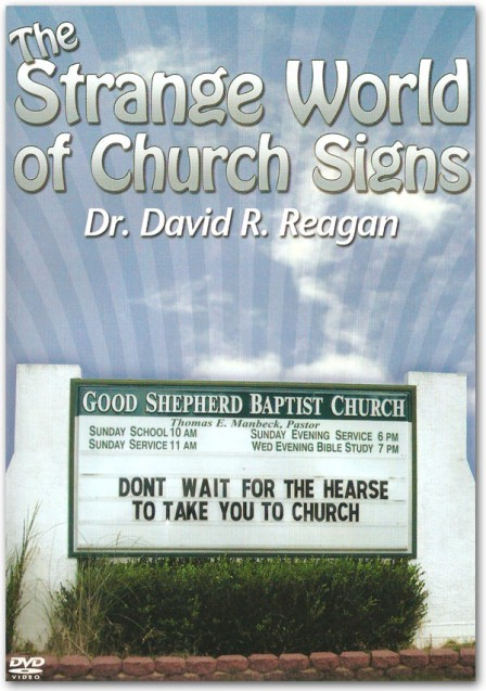 The Strange World of Church Signs DVD