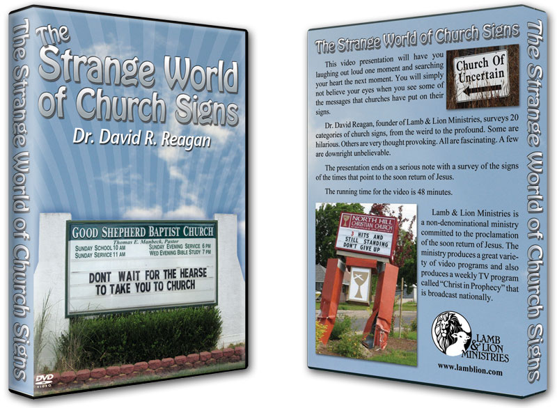 The Strange World of Church Signs DVD Both