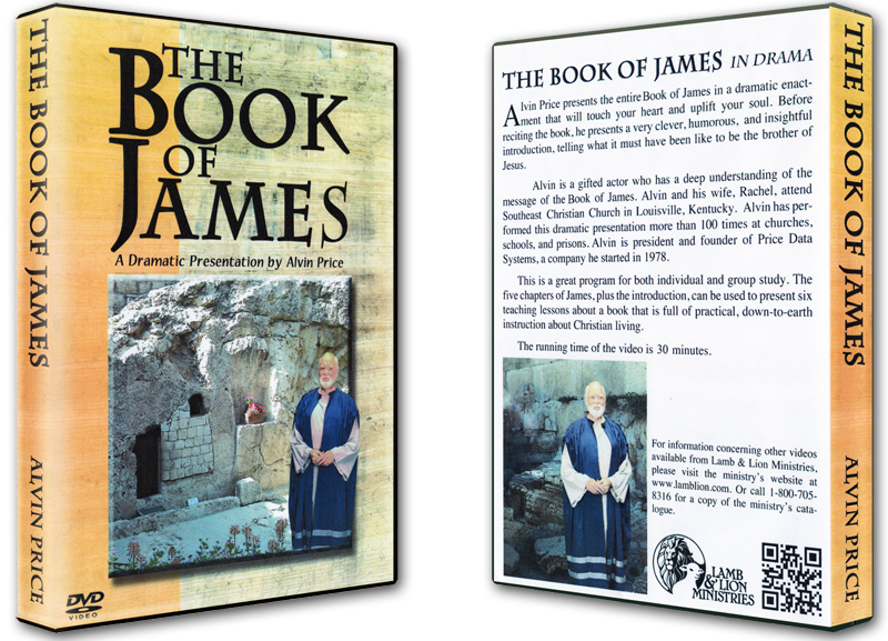 The Book of James DVD Both