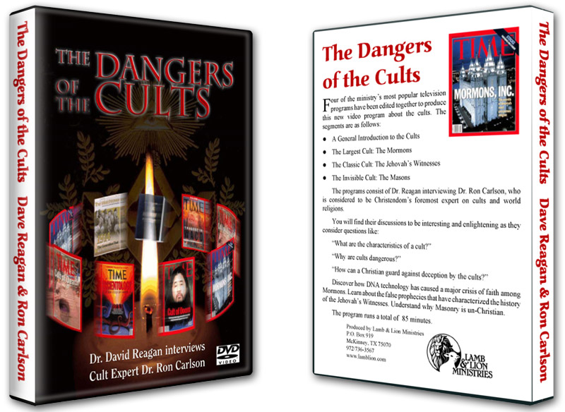 he Dangers of the Cults DVD Both