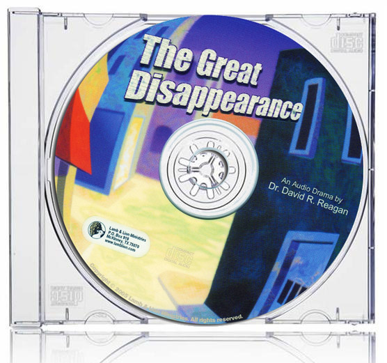 The Great Disappearance CD Case