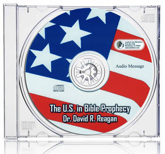 The United States in Bible Prophecy CD Case