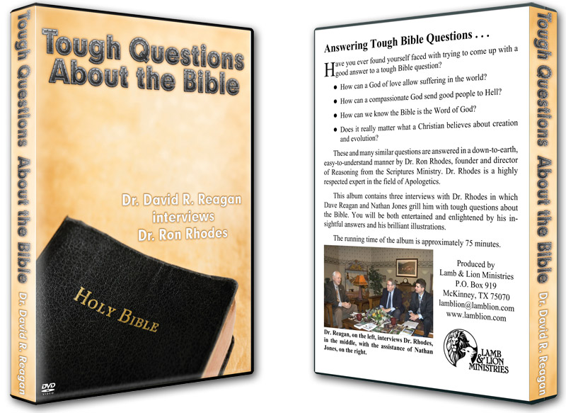 Tough Questions About the Bible DVD Both