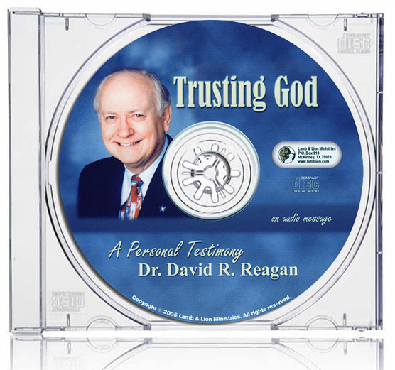 Trusting God: A Personal Testimony CD Case