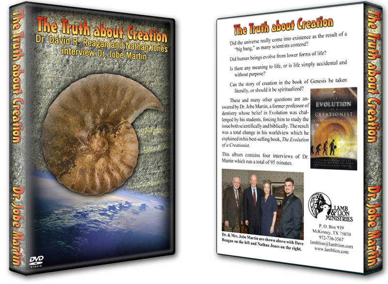 The Truth About Creation DVD Both
