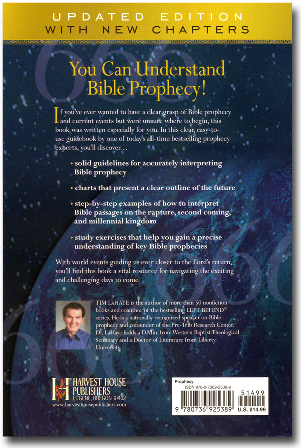 Understanding Bible Prophecy For Yourself Book Back