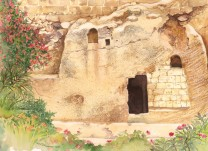 The Garden Tomb Watercolor