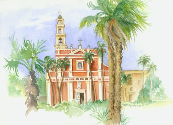 Saint Peters Watercolor