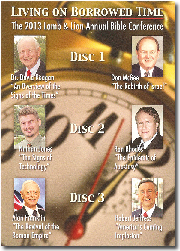 Living on Borrowed Time 2013 Conference DVD Album Back