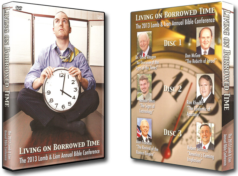Living on Borrowed Time 2013 Conference DVD Album Both
