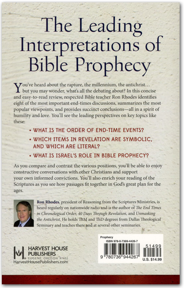The 8 Great Debates of Bible Prophecy Back