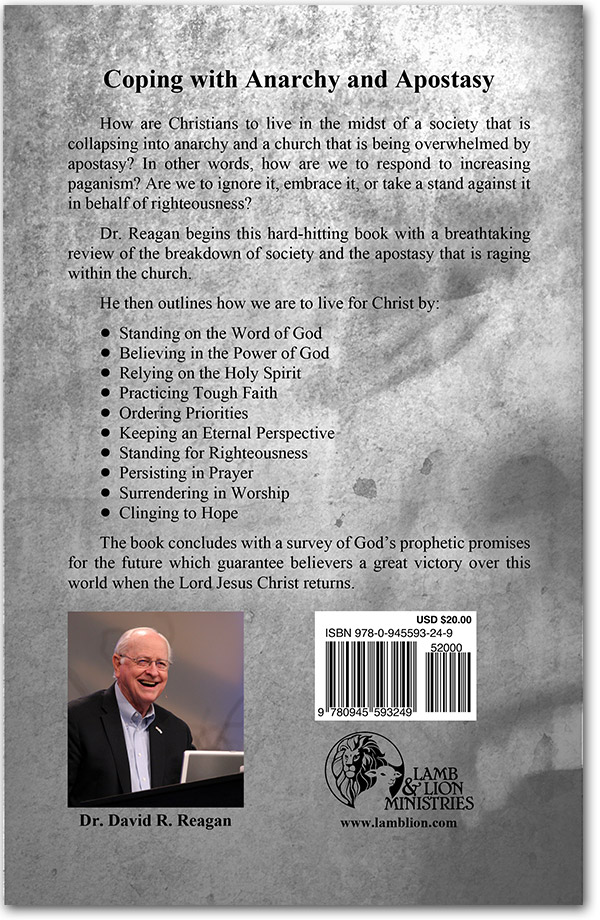 Living For Christ In The End Times Book Back