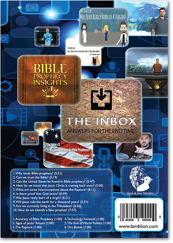 The Inbox: Answers for the End Times, Volume I back