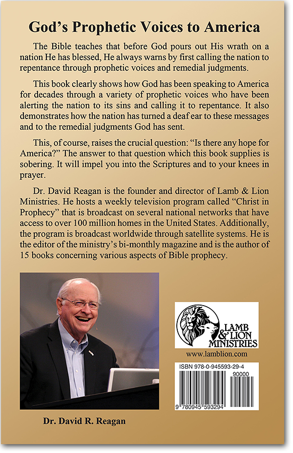 God's Prophetic Voices to America back